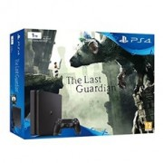 Consola Sony PS4 1tb Negra + Juego The Last Guardian