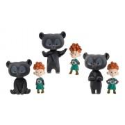 Mattel V1813 - Disney, Merida, i tre gemelli, compreso costume da orso, in confezione regalo