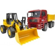 Camion MAN cu buldozer FR 130