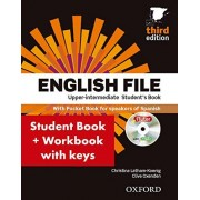 Christina Latham-Koenig English File Upper-Intermediate: Student's Book Work Book With Key Pack (3rd Edition) (English File Third Edition)