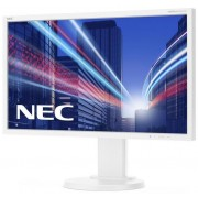"Monitor IPS LED Nec 23.8"" E243WMi, Full HD (1920 x 1080), DVI, VGA, DisplayPort, 6 ms, Boxe, Pivot (Alb)"