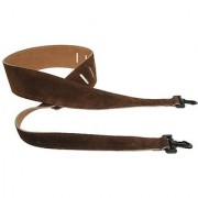 Perris Leathers P25SBJ-201 2.5-Inch Soft Suede Banjo Strap