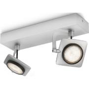 531924816 - LED-Spotbalken Millenium 2x5W 2700K 2-flg.alu 531924816