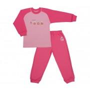 Pijama pentru fetite cu maneca lunga