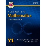 New A-Level Maths for OCR: Year 1 & AS Student Book by CGP Books