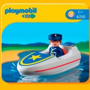 Playmobil 1.2.3 Search Coastal & Rescue
