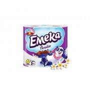 Тоалетна хартия Emeka Paradise, 3 пластова, 8бр
