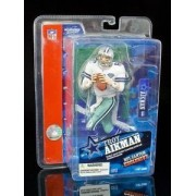 Mc Farlane Sportspicks: Nfl Canton Hall Of Fame Exclusive Troy Aikman White Jersey Action Figure Production Limited To 3000 Figures