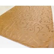 Narancs kockás szőtt pamut terítő/Cikksz:021021