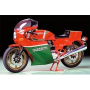 Ducati 900 Mike Hailwood Replica (1/12) Scale Plastic Model Made by Tamiya