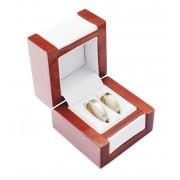 Dřevěná dárková krabička na snubní prsteny DN-2/NA/A1