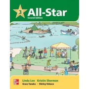 All Star Level 3 Student Book with Work-Out CD-ROM by Linda Lee