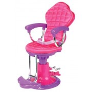 Doll Chair, Salon Doll Chair fit for 18 Inch American Girl Doll Bed Room, Doll Furniture Provides a Perfect Doll Salon Chair for Brushing your Dolls Hair