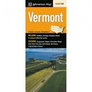 Universal Map Vermont State Map Fold Map (Set of 2) 14616