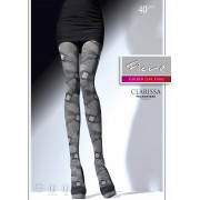 Fiore - Trendy diamond pattern tights Clarissa 40 DEN