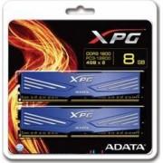 Memorie ADATA XPG V1 8GB 2x 4GB DDR3 1600MHz CL11 albastra