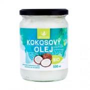 Allnature Premium Bio Coconut Oil 500ml Продукт за намаляне на холестерола Unisex Био кокосово масло