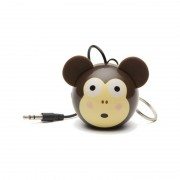 Boxa portabila KitSound Mini Buddy Monkey 2W brown