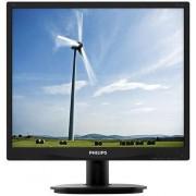 "Monitor LED Philips 19"" 19S4QAB, DVI, VGA, 5 ms, Boxe (Negru)"