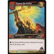 World of Warcraft Blood of Gladiators Single Card Thoros the Savior #16 Uncommon