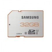 Samsung 32GB PLUS SDHC - up to 48 MB/s - UHS-1 Class 10 Memory Card (MB-SPBGC/AM)