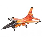 Revell - 63980 - Maquette D'aviation - F-16 Mlu Solo Display - 98 Pièces - Echelle 1/72