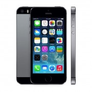 iPhone 5s 16 Go - gris sidéral + iPhone 5s Case - noir - Coque
