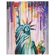 Cuadro LIBERTAD 100x80x3,5, pintado a mano al óleo