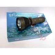 Професионален мощен подводен фенер Police Cree 50000W