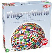 Flags Around the World - Test Your Knowledge - Board Game - Tactic Games by Tactic Games