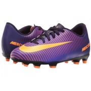 Nike Jr Mercurial Vortex III FG Soccer (Little KidBig Kid) Purple DynastyHyper GrapeTotal CrimsonBright Citrus