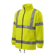 Jacheta fleece unisex, High-Visibility