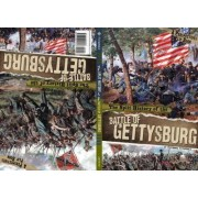 Split History of the Battle of Gettysburg: A Perspectives Flip Book by Stephanie Fitzgerald