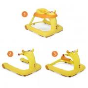 Chicco Trotteur bébé 1 2 3 orange