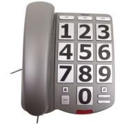 Telefon fix Profoon TX-570 cu butoane mari si semnalizare luminoasa pentru seniori