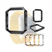 Reloj EW Fitbit Blaze cubierta de metal reloj de los accesorios inteligentes plata del acero inoxidable Bisel