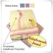 Dziecięcy szlafrok - 3 kolory wraz z haftowaniem imienia dziecka, dedykacji