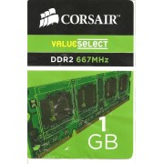 Mémoire Portable Value Select SO-DIMM 1 Go PC5300 (VS1GSDS667D2) - DDR2 - 667 MHz / PC2-5300 - mémoire sans tampon - NON ECC