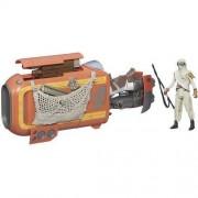 Star Wars Model Skutera Repulsorowego Speeder Bike Rey Jakku - BEZPŁATNY ODBIÓR: WROCŁAW!