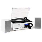 Majestic / Audiola sistem stereo LP CD USB SD MMC (TT-38-CD/TPWH)