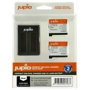 Jupio acumulator suplinitor (GoPro AHDBT-401 HERO4 1160mAh) și USB Dual Charger Kit