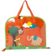 Lill Pumpkin orange jungle Drawing bags