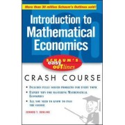Schaum's Easy Outline of Introduction to Mathematical Economics by Edward T. Dowling