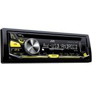 JVC KD-R571 Radio para coche (WAV, MP3, WMA, FLAC, 87,5 108 MHz, 531 1611 kHz, 153 279 kHz, LCD, Negro)