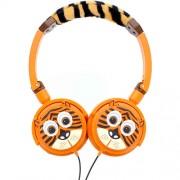 Casti Audio Tiger Portocaliu Tabzoo
