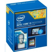Intel 1150 i3-4360 Ci3 Box Processore da 3,7 Ghz, Nero