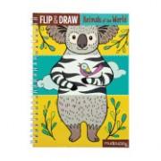 Animals of the World Flip & Draw