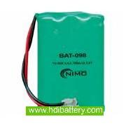 Pack de baterías 3,6V/700mAh NI-MH