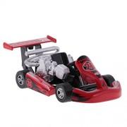 Baoblae Pull Back Car Racing Vehicle Die-Cast Vehicles Race Car Model Design Kids Children Boy Toy Xmas Birthday Gift Red