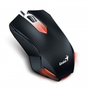 Mouse, Genius X-G200, Gaming, Black, USB (31040034100)